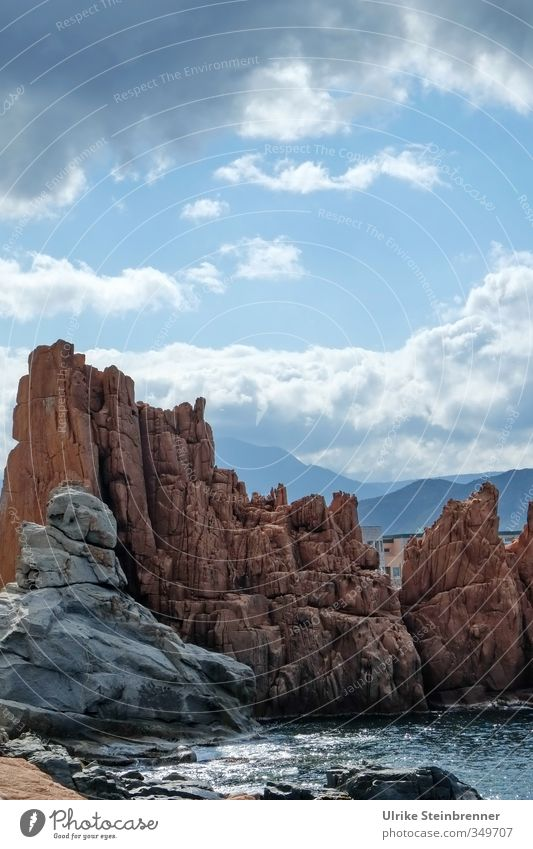 Sky Nature Landscape Clouds Dark Environment Mountain Spring Coast Stone Natural Rock Tall Italy Bay Upward
