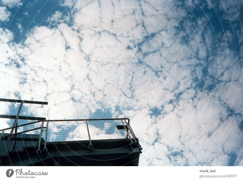 Nature Sky Clouds Far-off places Freedom Handrail Bad weather