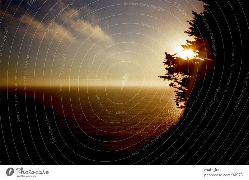 Sun Ocean Horizon Romance