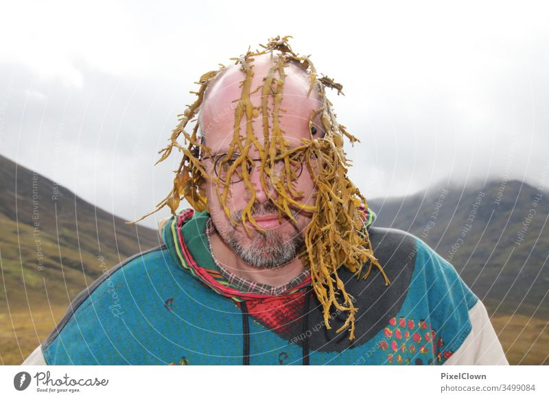 A person in Scotland Nature Landscape Mountain Europe Great Britain Man Eyeglasses Vacation & Travel hair Algae