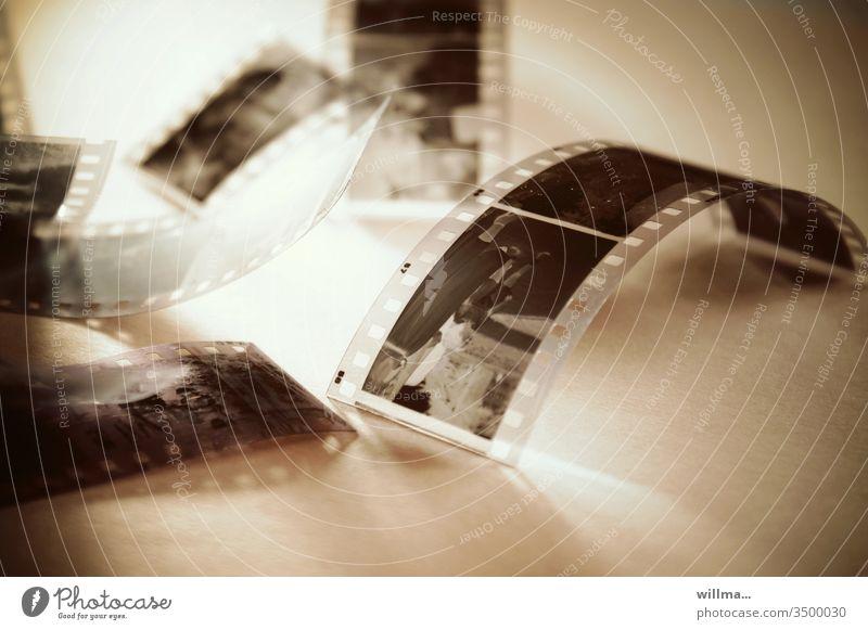 Analogue photography, film negatives Film Photography Negative analogue photography Filmstrips Photo negative negative film Retro Take a photo Memory Past