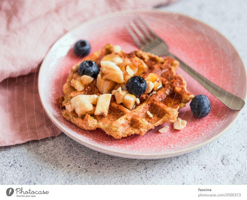 Healthy Gluten Free Oat Waffles. Copy Space oat waffles copy space belgian waffle healthy gluten-free oatmeal appetizing easy baked bakery breakfast delicious