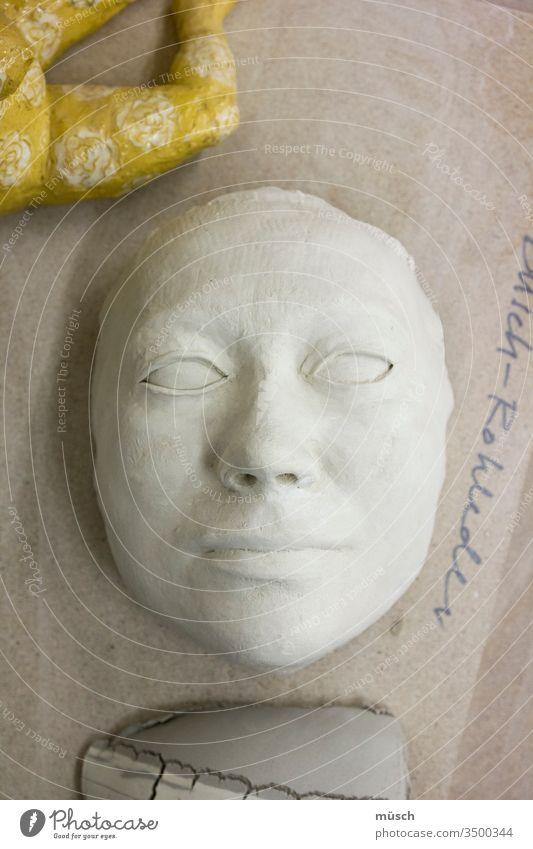 masquerade Mask Tone copy peer White Yellow Face girl Woman Art Death smile Porcelain Theatre game