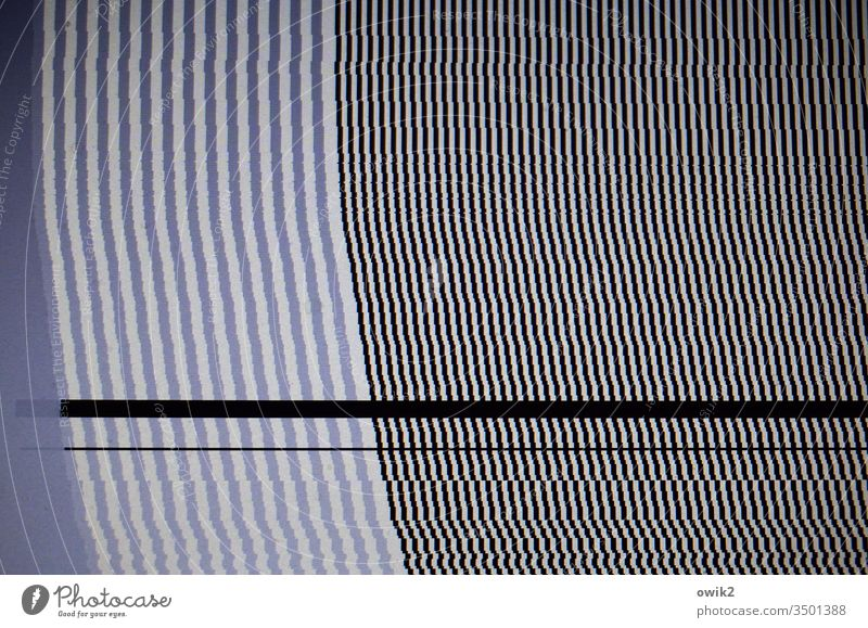 Computer breakdown Pattern structure Stripe lines Gray Black White Parallel Many Unclear puzzling Thin Arrangement flexed Consistent Structures and shapes