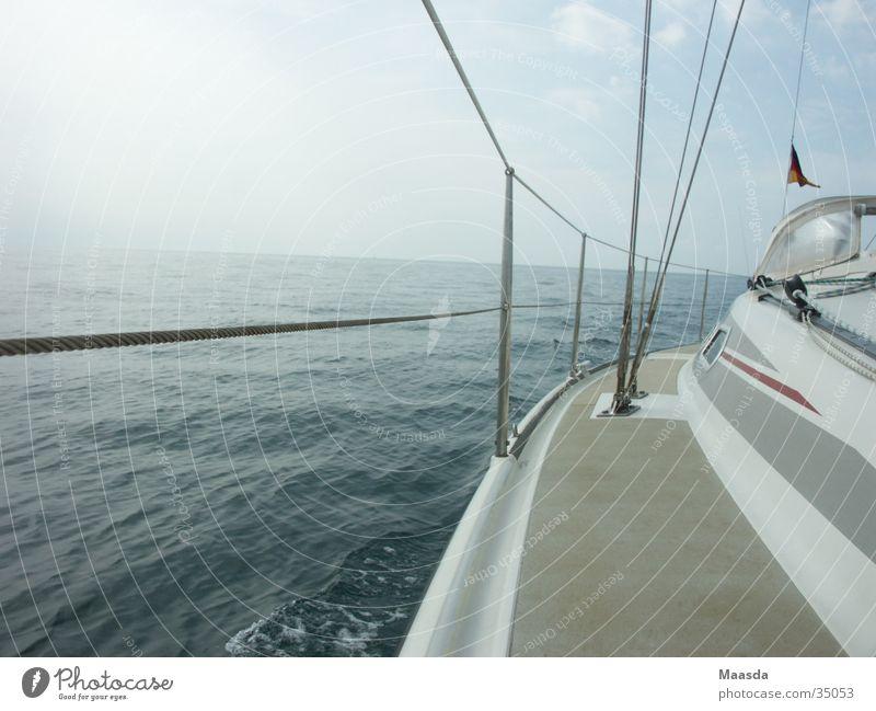 Water Sky White Ocean Blue Watercraft Sailing Navigation Sailboat Railing Adriatic Sea