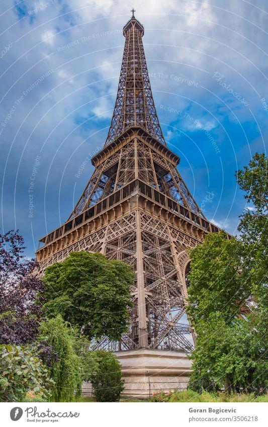 The Eiffel Tower in Paris, France sky france tourism city travel tower europe eifel architecture eiffel french symbol urban paris national landmark monument