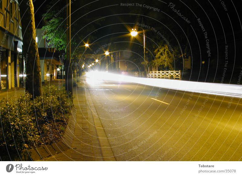 Street Movement Car Speed Long Photographic technology