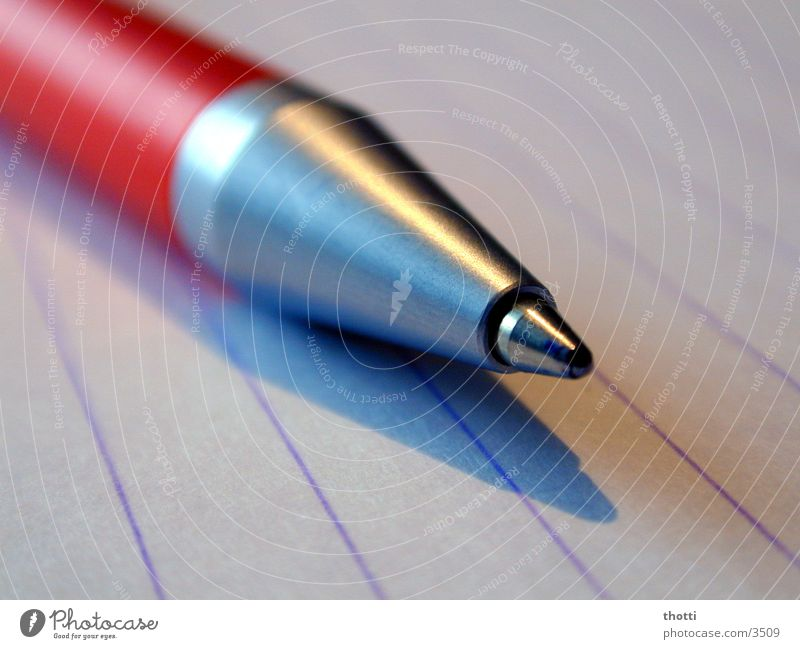 ball pin Ballpoint pen Pen Paper Leaf Work and employment Things Write Macro (Extreme close-up) Profession Business