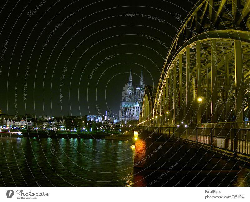 Large Railroad Europe Bridge Berlin Cologne Dome Berlin Philharmonic Hohenzollern Bridge