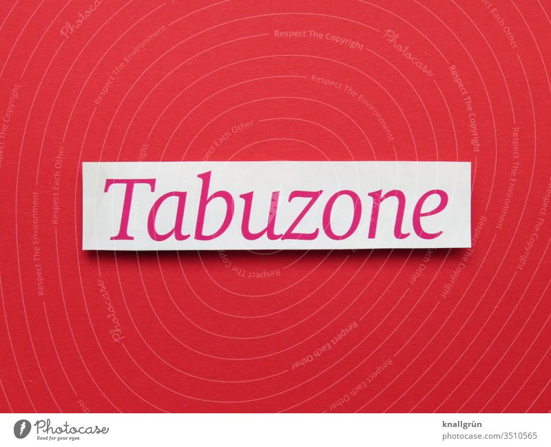 taboo zone Taboo Sacrosanct Bans Letters (alphabet) Word Typography Characters Text letter Latin alphabet Language Communicate communication Compromise