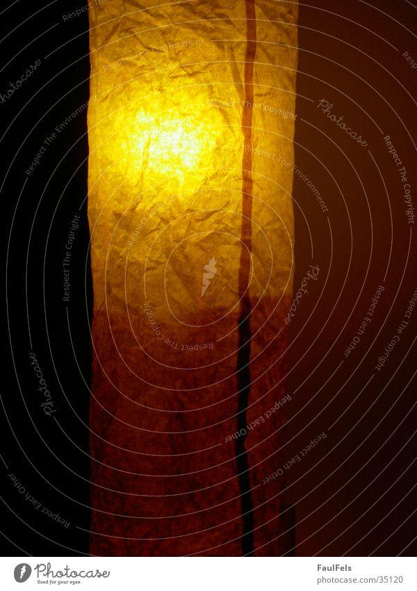 Lamp Dark Paper Living or residing Reaction Lampshade