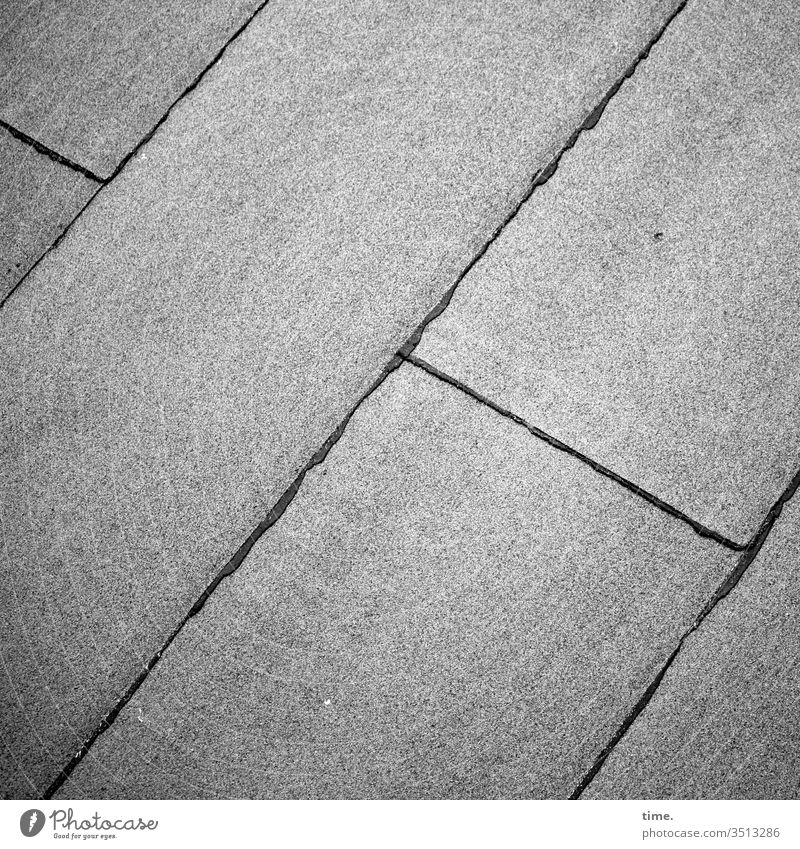 flat roof Surface Old building lines Gray Moody Inspiration then Former roofing felt Flat roof Welding seam bitumen Parallel Diagonal Safety Protection