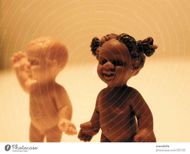 Girl White Black Dark Boy (child) Naked Laughter Couple Bright 2 Together Obscure Doll Converse Wave