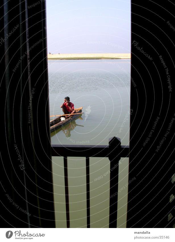 inquisitiveness Watercraft Indian Curiosity Opening Vantage point Window Los Angeles Looking Column River