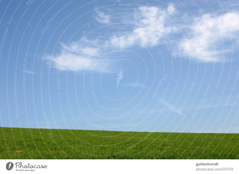 vastness Black Forest Flat Meadow Green Background picture Graphic Simple Grass Clouds Mountain Sky Blue Lawn