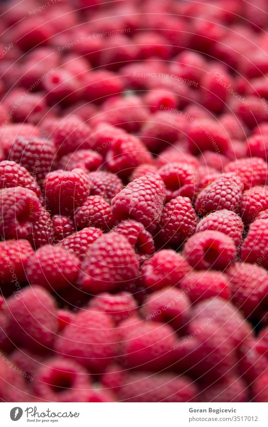 View of heap of raspberries as textured background raspberry fruit food juicy healthy ripe dessert sweet diet fresh many tasty vibrant pile group nutrition