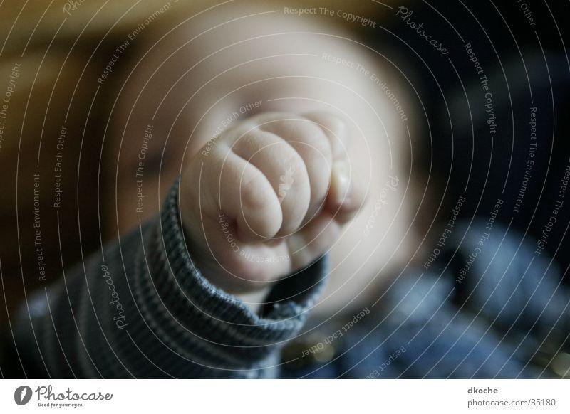 riser Fist Hand Baby Child Man Boy (child)