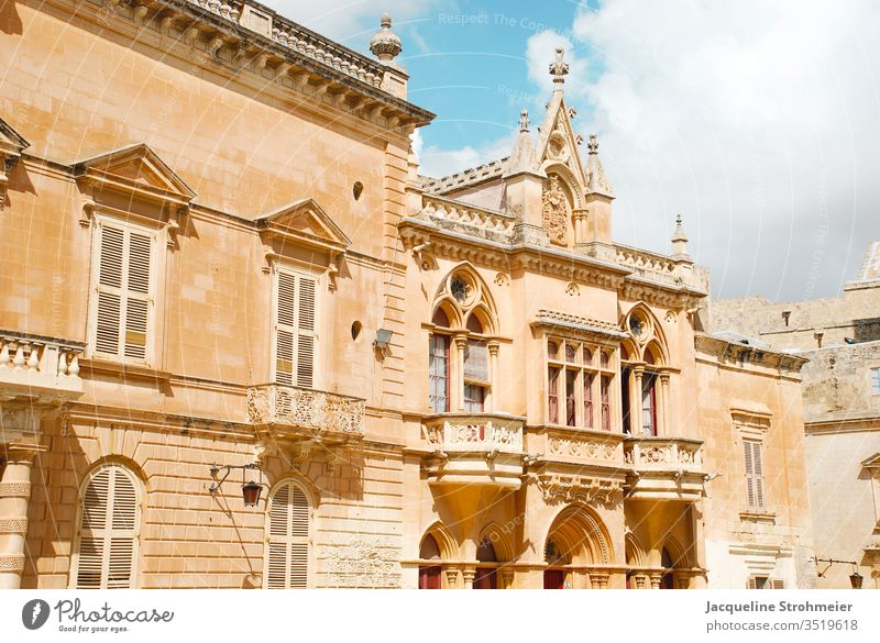 Mdina, Malta - The Silent City Europe maltese Island Architecture Old town Facade Old building Vacation & Travel Tourism Building Town Game Of Thrones Historic