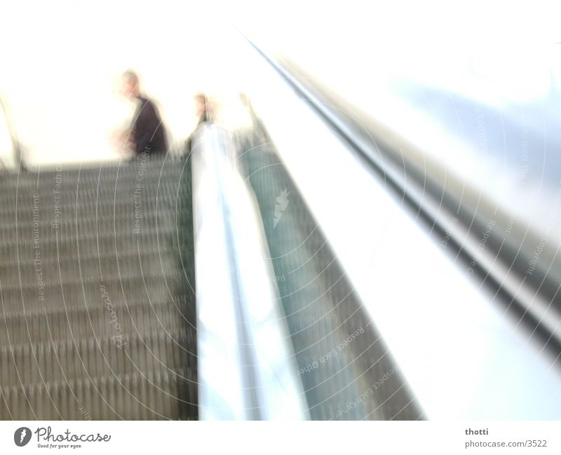 White Movement Escalator Photographic technology