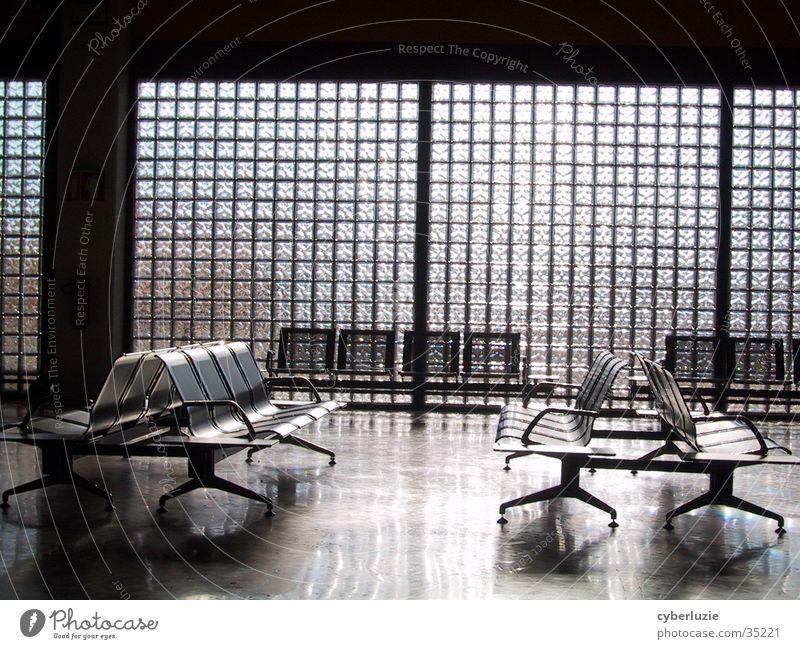 Sun Architecture Glass Chair Airport Portugal Departure lounge Faro