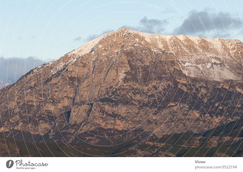 Mountain. Ordesa y Monte Perdido National Park. Pyrenees. Huesca. Aragon. Spain. aragon cliff cliffs color colors colour colours crag crags high huesca