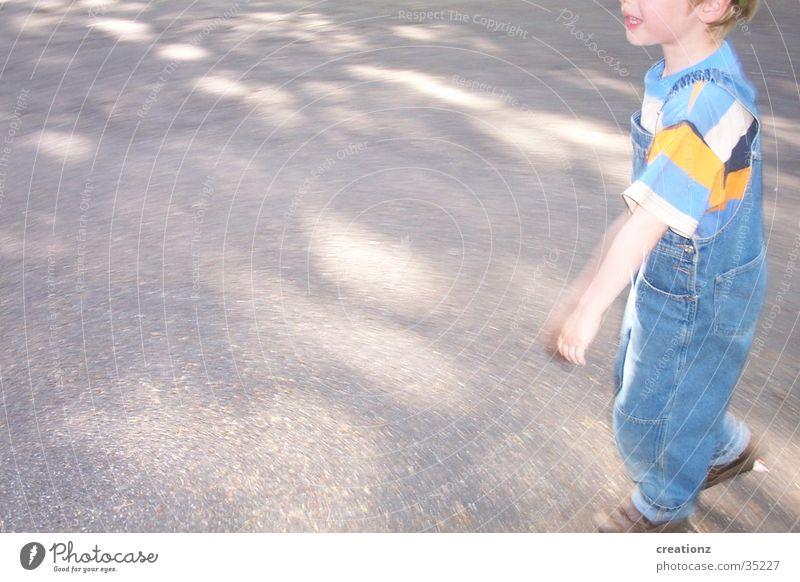 Child Man Street Boy (child) Stripe Anger Brash Cry Aggravation Overalls