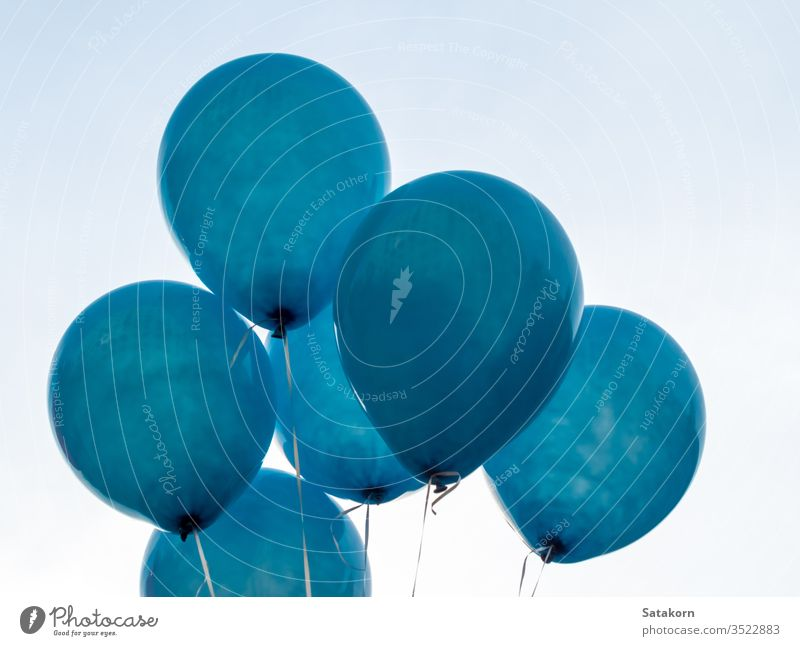 Texture on surface of blue balloon balloons float white decoration texture air pattern skin rubber design closeup decorative color concept celebration creative