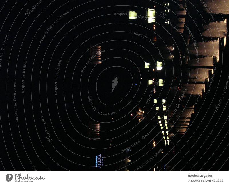 Barcelona by Night Light Lantern Architecture Castle Street