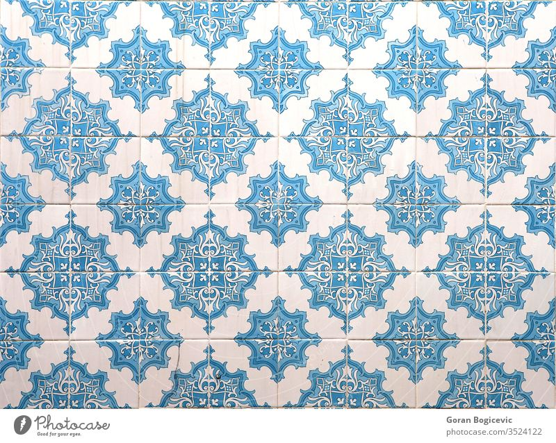 Lisbon azulejos Abstract Ancient Antique Architecture Art Artist Artistic Work of art Azulejo background built Pottery Collage Colour colourful Cover