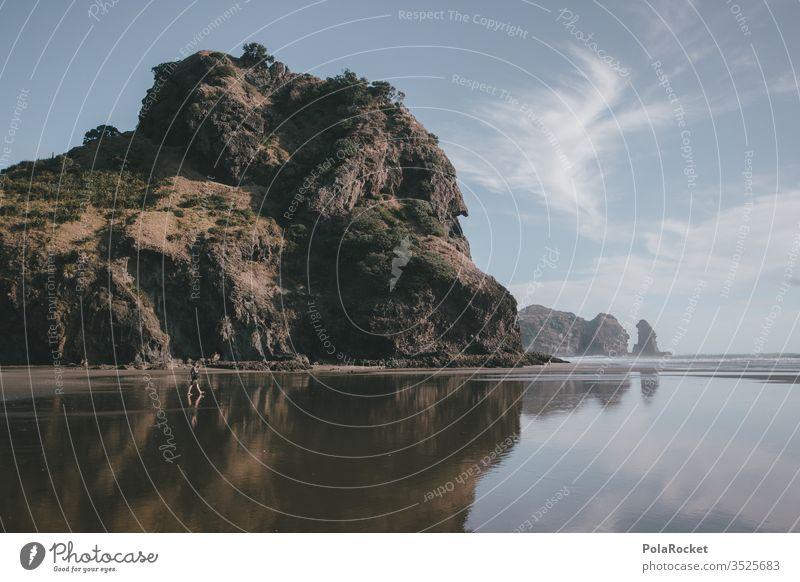 #As# sea stones Ocean Sea water seascape ocean Coast piha Water Vacation & Travel New Zealand Stone Rock Rocky coastline Ledge Nature Exterior shot Landscape