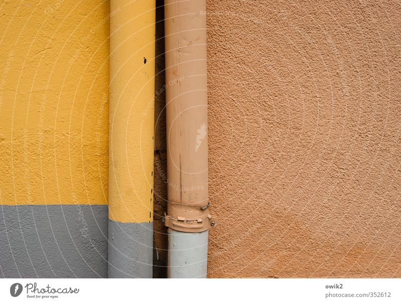 Colour Wall (building) Wall (barrier) Gray Friendship Metal Together Orange Facade Stand In pairs Simple Technology Firm Near Infatuation
