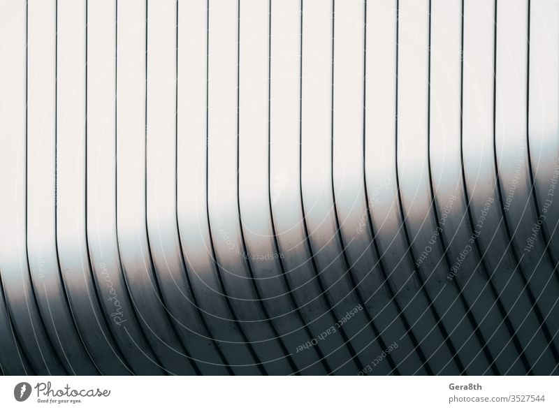 gray curved wall of a modern building abstract abstract background abstract pattern abstraction aluminum architecture backdrop bend blank construction design