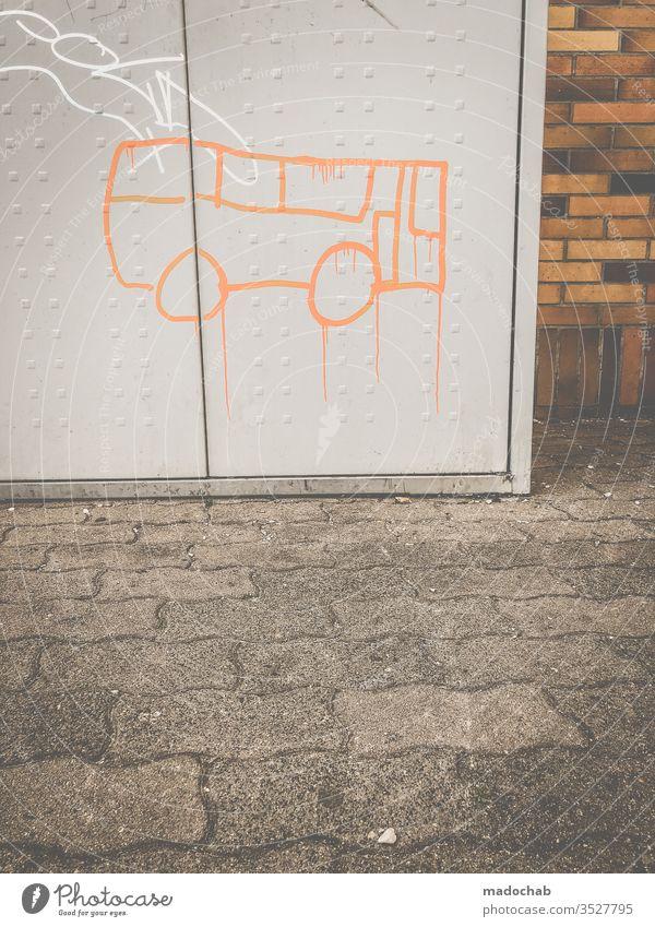 Drips - Bus stop Graffiti Daub Mural painting Public transit Bus travel Road traffic Passenger traffic Street Town Means of transport Transport Exterior shot