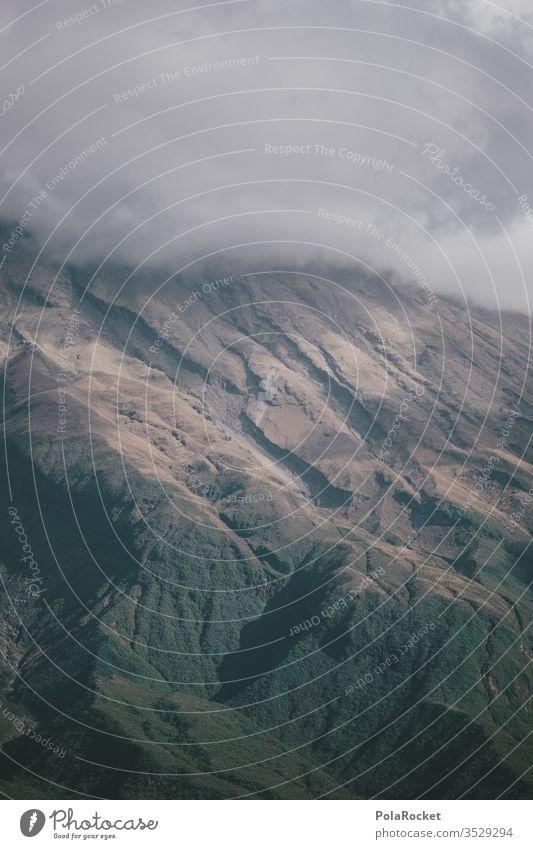 #As# MountainGrey Slope mount taranaki New Zealand New Zealand Landscape Clouds slope Exterior shot Nature Peak Colour photo Environment Sky Deserted Wanderlust