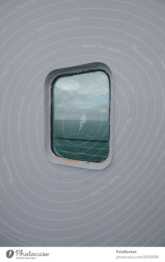 #As# Come on in, you can look out Window Window pane View from a window Navigation Ferry Deck ship reflection Travel photography travel voyage Vacation & Travel