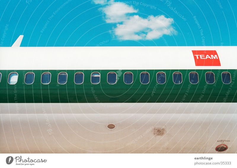 Sun Green Blue Red Summer Clouds Window Airplane Aviation Technology Water wings Italy Sicily