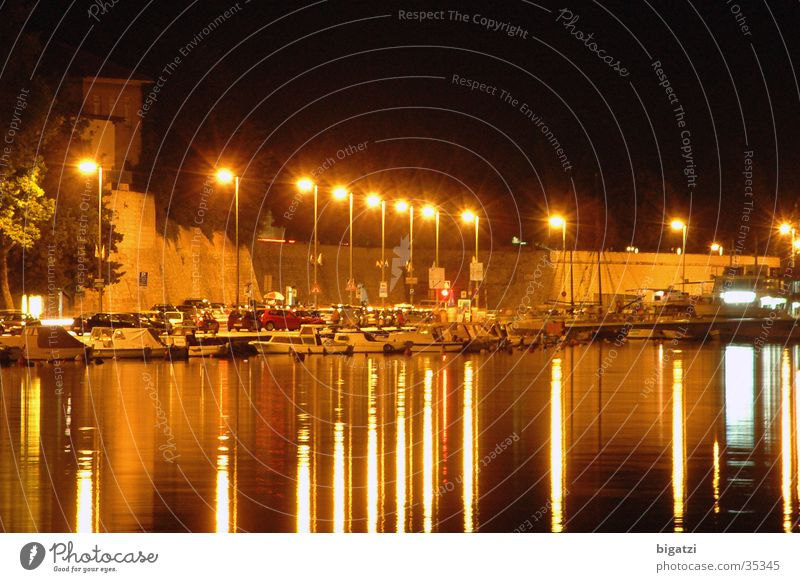 evening promenade Long exposure Promenade Ocean Europe evening photo Lighting