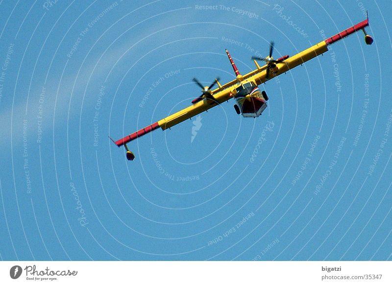 aviator Airplane Propeller Sky