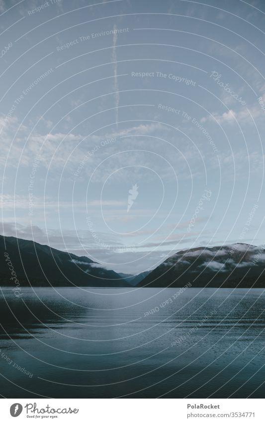 #As# lakeshore Lake Lakeside New Zealand New Zealand Landscape Water Surface of water Blue Mountain
