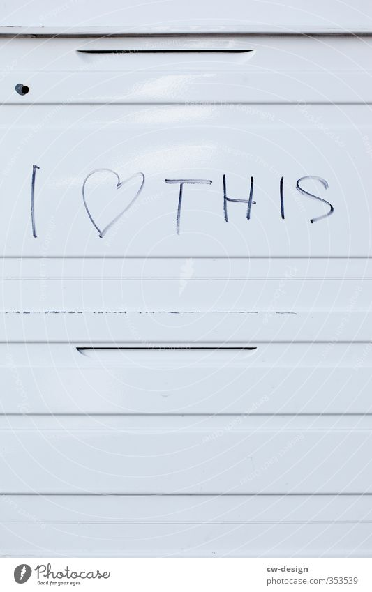 City White Black Life Graffiti Love Emotions Happy Art Line Authentic Heart Joie de vivre (Vitality) Romance Sign Hip & trendy