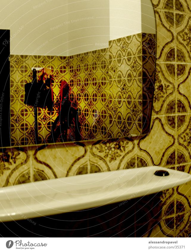 Mirror Toilet Photographic technology