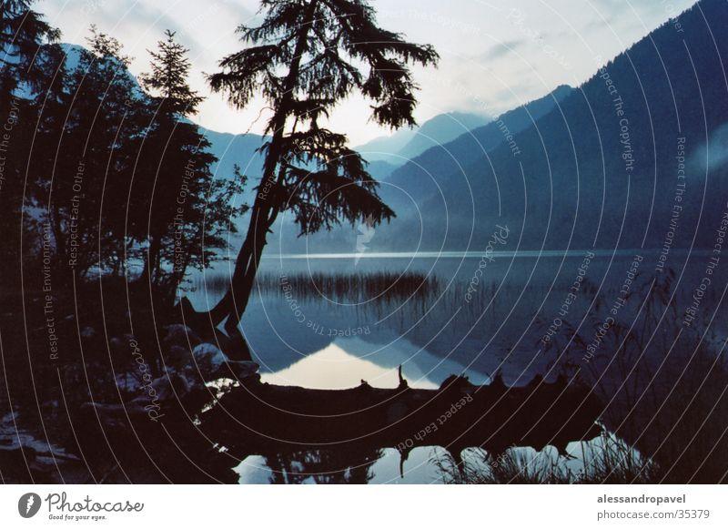 Italy South Tyrol Tripod Antholzer Lake