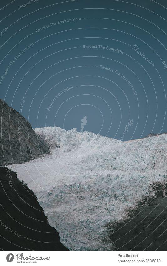 #AS# Pile of ice Glacier Glacier ice Cervasse Glacier tongue Glacial melt Glacial migration Climate change Global warming Ice Iceberg New Zealand