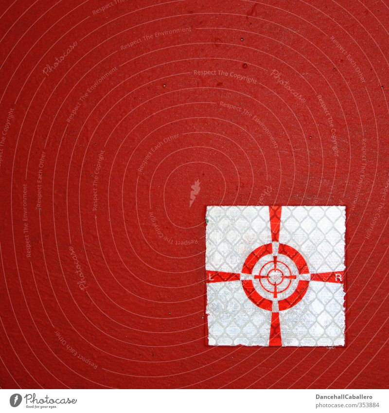 White Red Wall (building) Wall (barrier) Success Circle Technology Construction site Middle Meeting Crucifix Craft (trade) Geometry Target Left Right