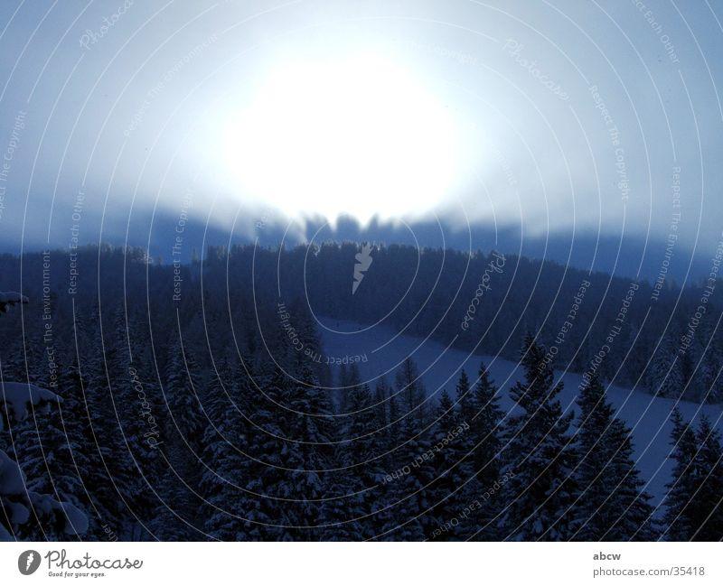 light Light Austria Ski run Mountain