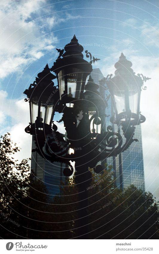 City Street Lamp High-rise Lantern Historic Street lighting