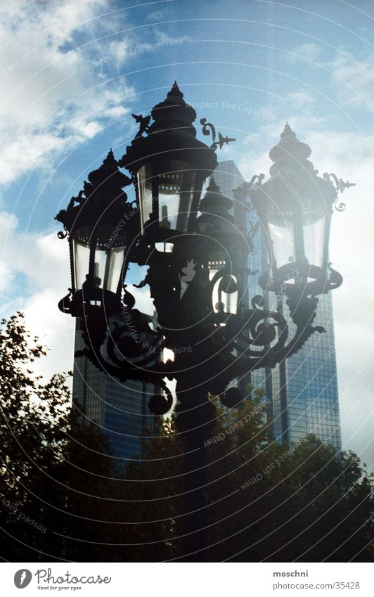 streetlamp Street lighting Lantern Lamp High-rise Town Historic