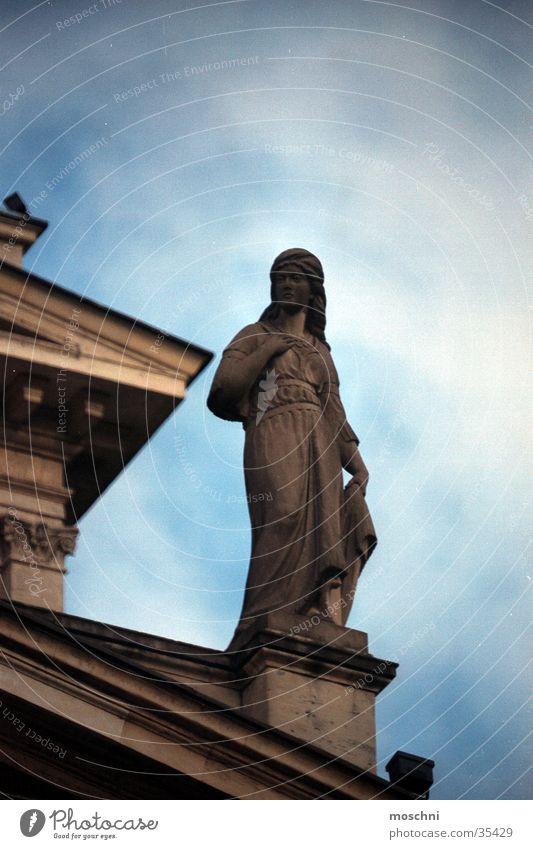 Architecture Facade Statue Frankfurt Opera Old opera