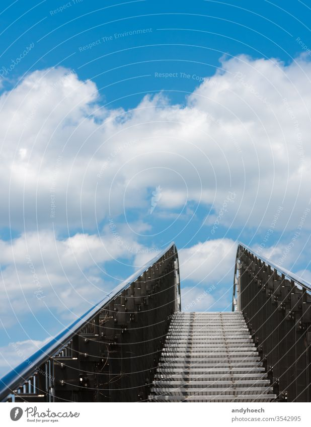 Few steps to heaven abstract architecture beautiful belief believe blue christ christian clouds cloudy completeness concept day death direction door end