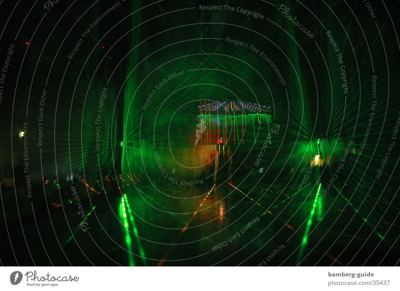 Lasershow2 Shows Light Science & Research Basketball E.ON Supercup. light